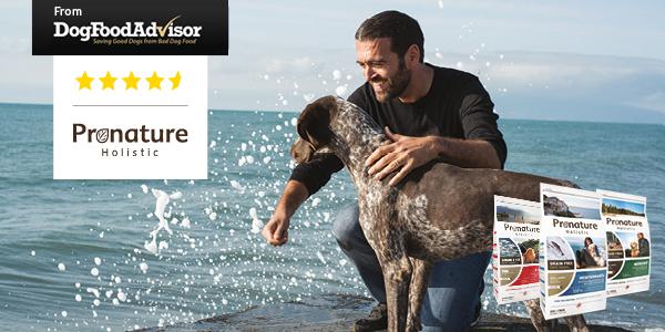 Pronature Holistic pour chien récolte 4 étoiles et demi!