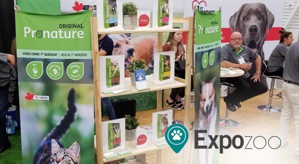 PLB présente de nouveaux produits au salon ExpoZoo
